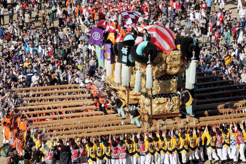 Guld- stor relikskrinfestiva royaltyfri fotografi