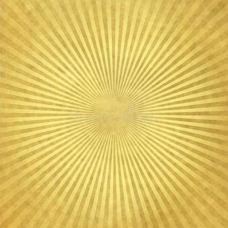 guld- strålwallpaper royaltyfria bilder