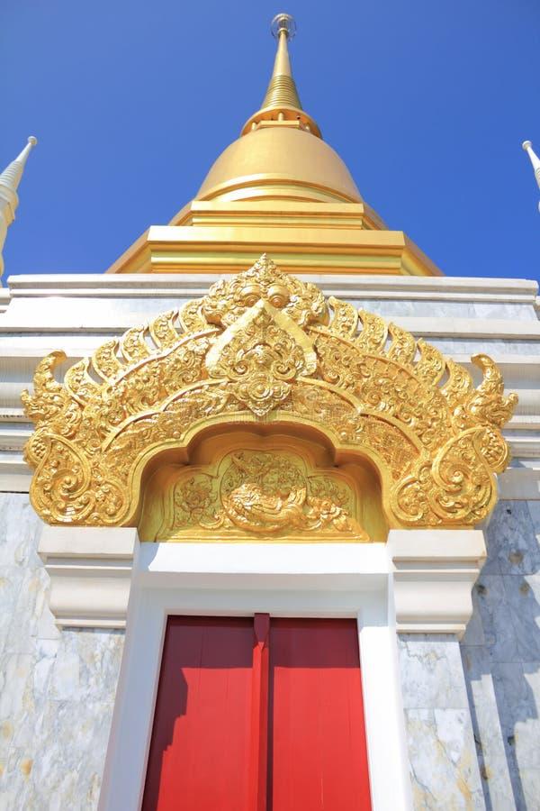 Download Guld- stupa fotografering för bildbyråer. Bild av kultur - 19786791