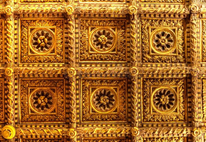 Guld- takCa-doro, Venedig, Italien royaltyfria bilder