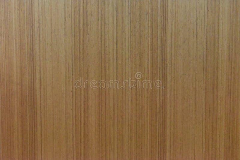 Guld- teakträmodell av garderob- och dörrräkningen royaltyfria bilder