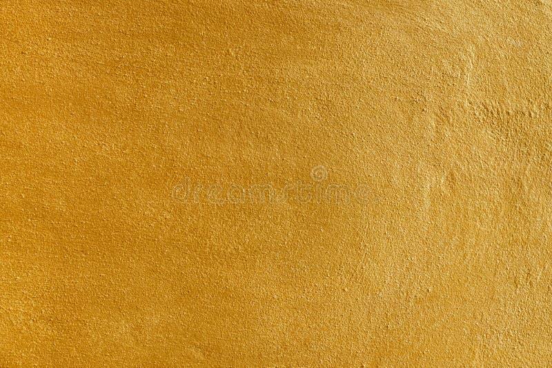 Guld- texturbakgrundsmellanrum f?r design royaltyfria bilder