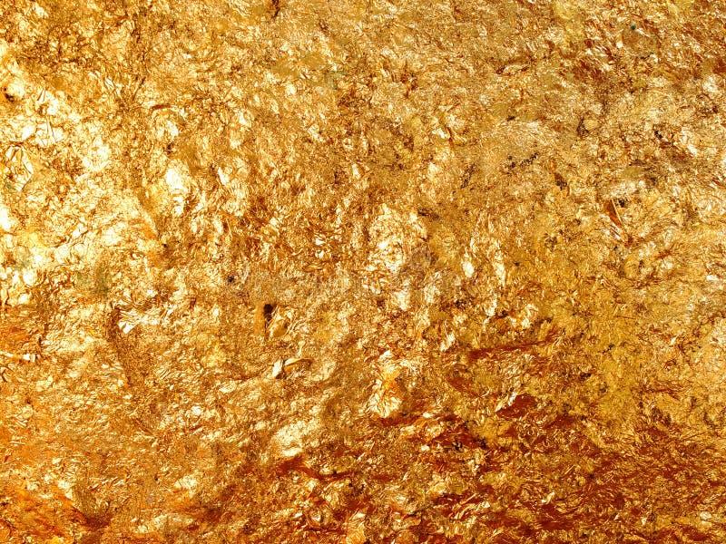Guld- texturera royaltyfri fotografi