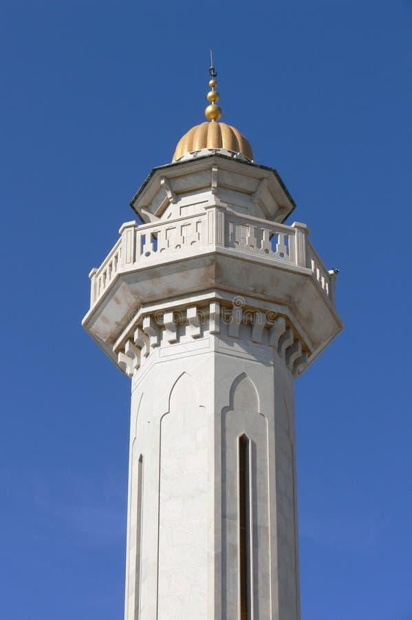 Guld- tornmausoleum av Habib Bourguiba arkivfoto