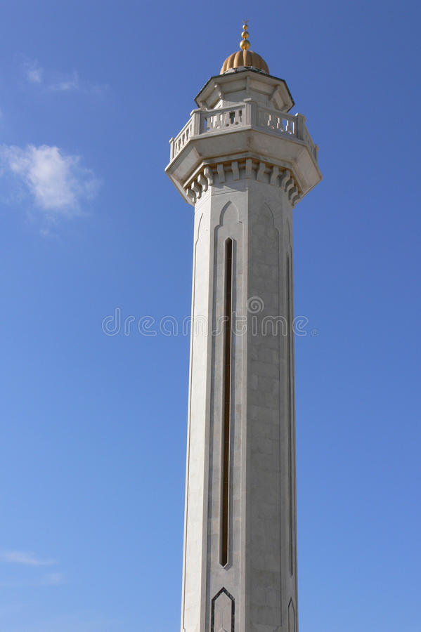 Guld- tornmausoleum av Habib Bourguiba royaltyfri fotografi