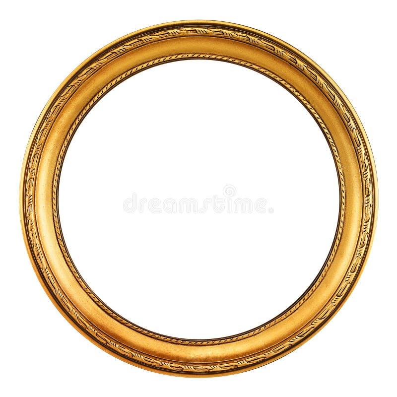Download Guldbildram - clippingbana fotografering för bildbyråer. Bild av frans - 27276463
