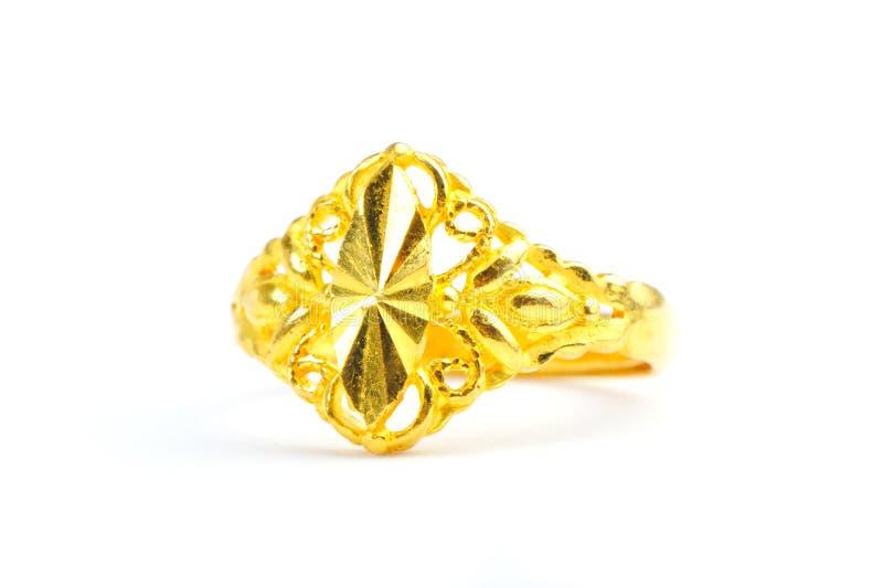 guldcirkel royaltyfri bild