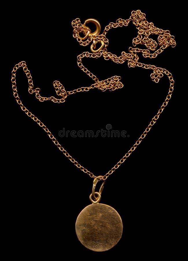 guldmedaljong royaltyfri foto
