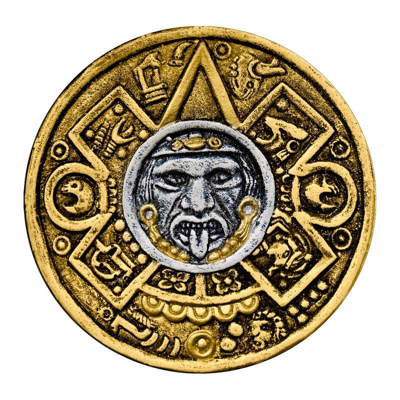 guldsköldtonatiuh royaltyfria foton