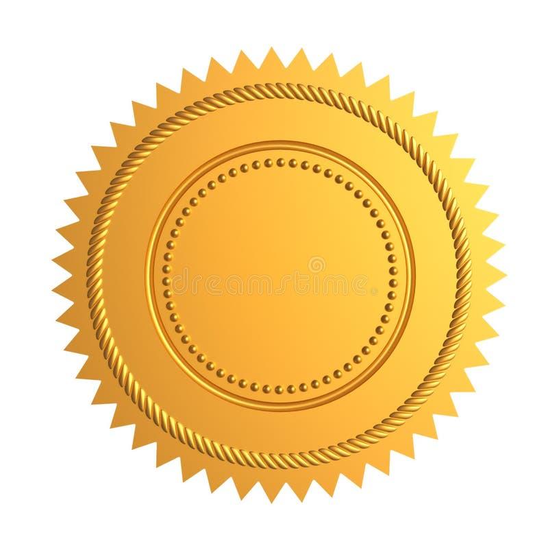 guldskyddsremsa vektor illustrationer