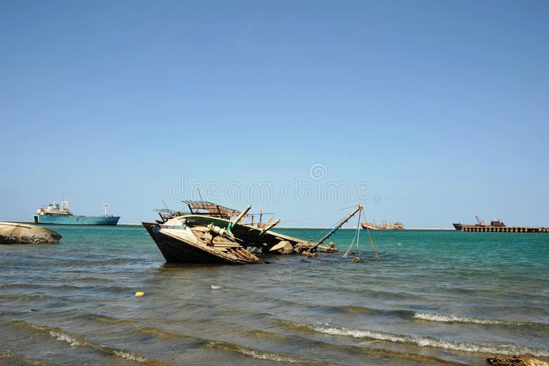 Download Gulf of Aden stock photo. Image of boat, gulf, africa - 37816458
