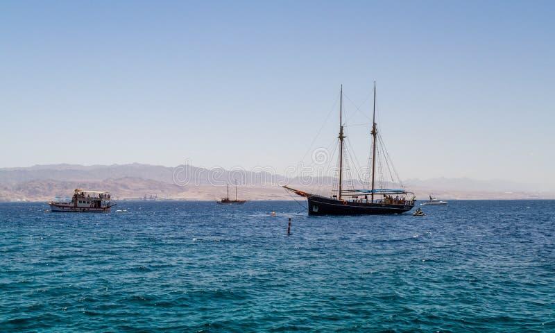 Gulf of Aqaba, Red Sea, Israel royalty free stock photos