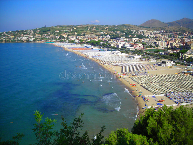 Gulf of Gaeta stock photo