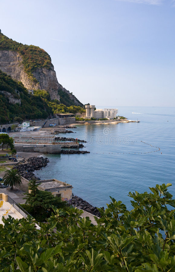 Download Gulf of Naples South stock image. Image of water, mediterranean - 7567221