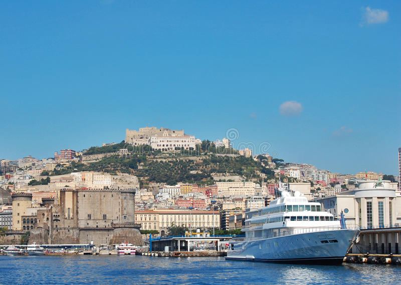 The gulf of Naples stock photography