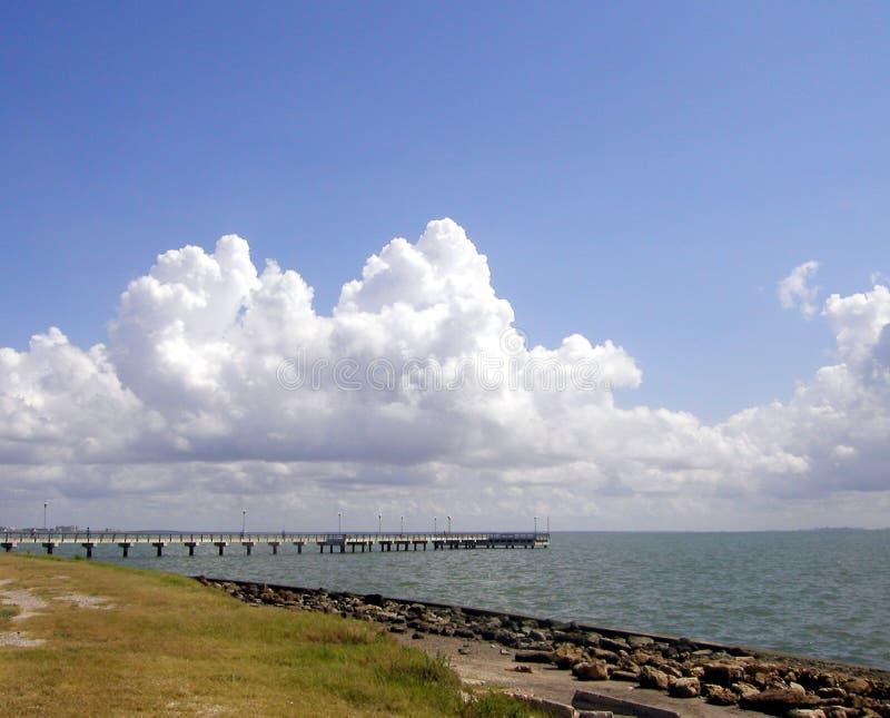 Gulf Pier royalty free stock photo