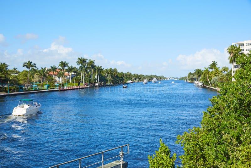 Gulf Stream Florida della spiaggia di Del Ray Delray fotografia stock libera da diritti