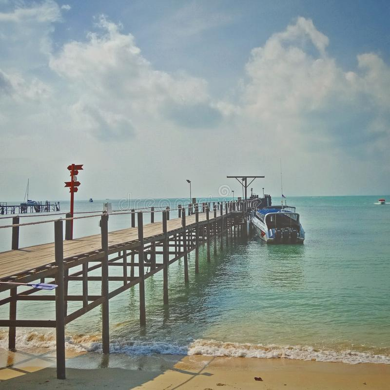 Gulf of Thailand. Koh Samui Hotels, Resorts, Accommodations, Bungalows Reservation Services & Travel Guides stock photo