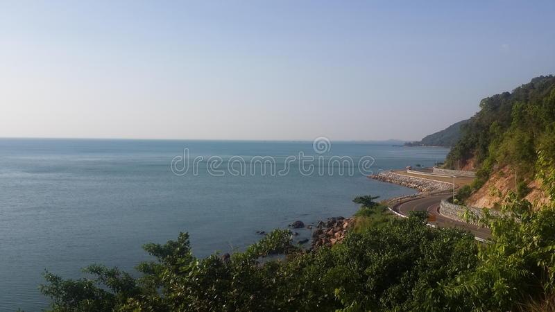 gulf of thailand royalty free stock image