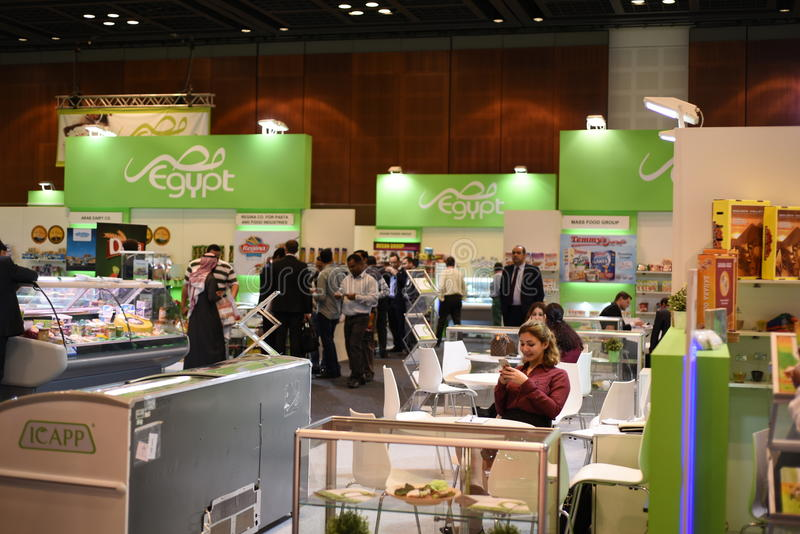 GULFOOD 2015 obrazy stock