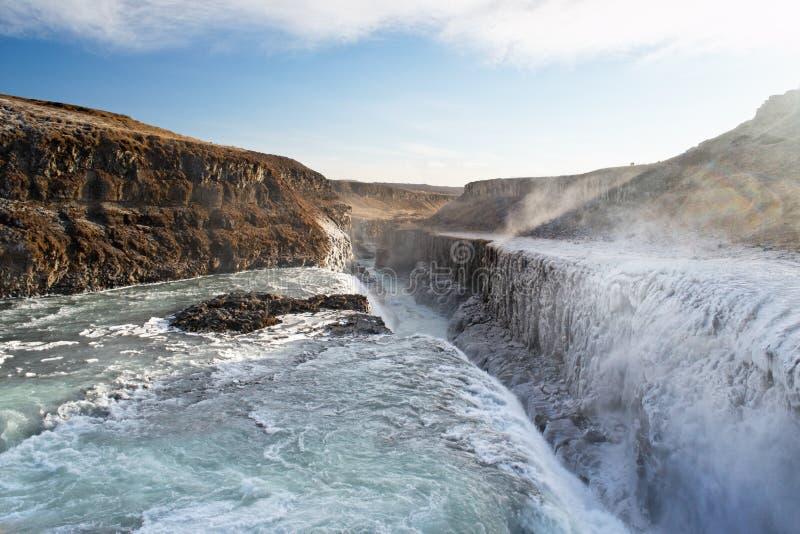 Gulfoss, Iceland royalty free stock photo