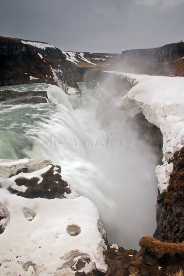 Free Gulfoss Waterfall In Iceland. Stock Photos - 3092273