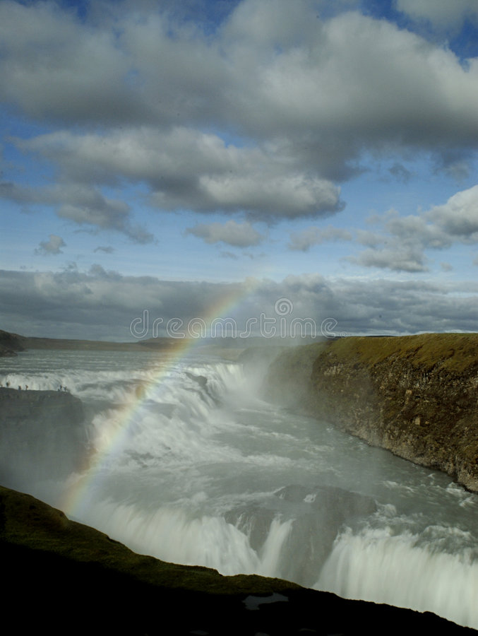 Free Gulfoss Waterfalls Stock Photography - 1403242
