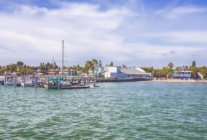 Gulfport, казино Флориды стоковые фотографии rf
