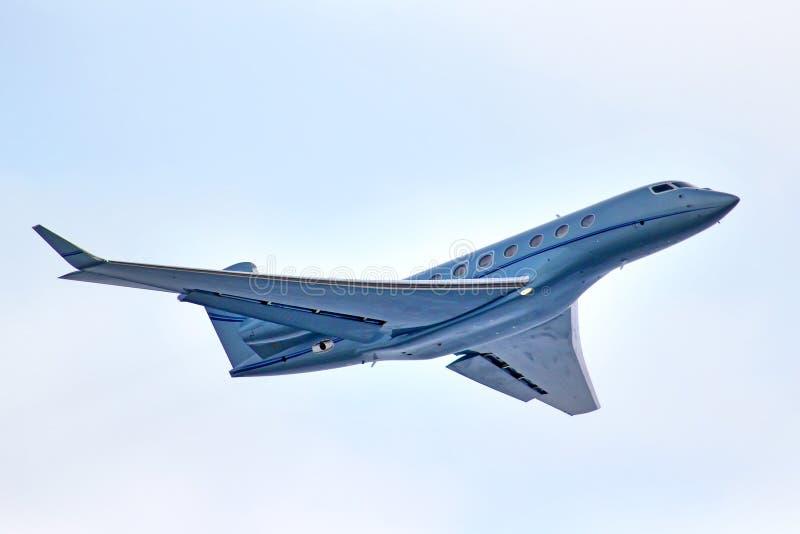 Gulfstream G650 aeroespacial foto de archivo