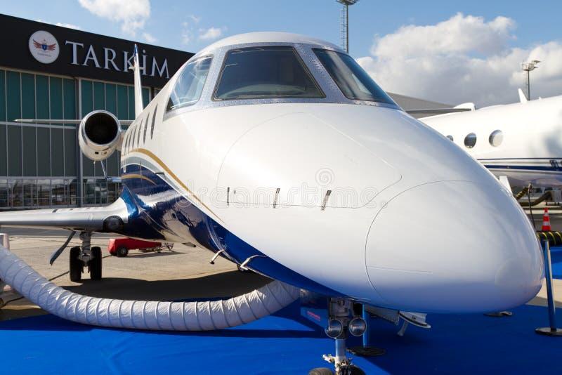 Gulfstream G100 fotografia de stock royalty free