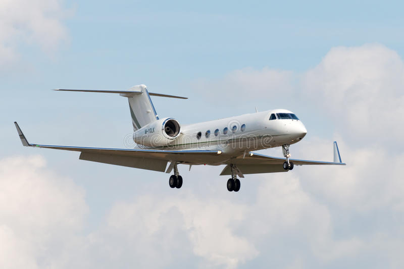 Gulfstream G450 royalty free stock images