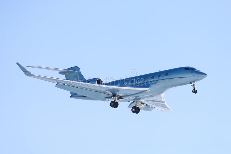 Gulfstream Ruimtevaartg650 royalty-vrije stock afbeeldingen