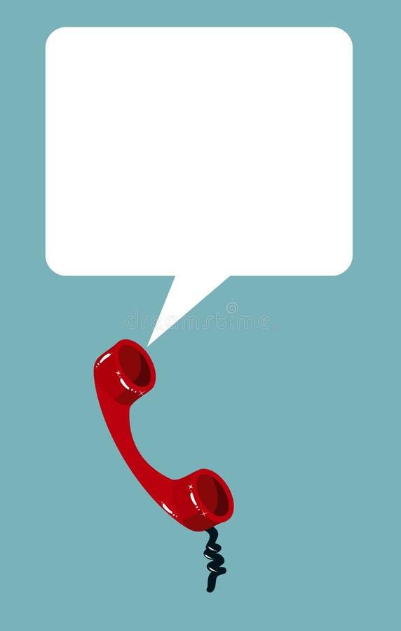gulgocze handset rozmowy telefon ilustracji