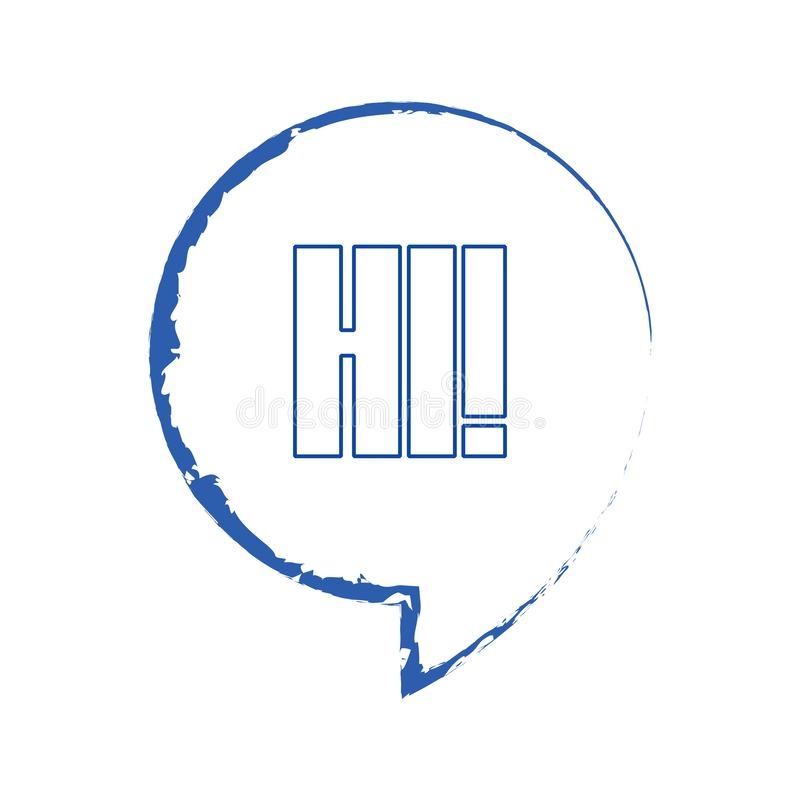 gulgocze kolorow? mow? Bąble z krótką wiadomość wektoru ilustracją Set bąble dla sztandarów, reklamuje royalty ilustracja