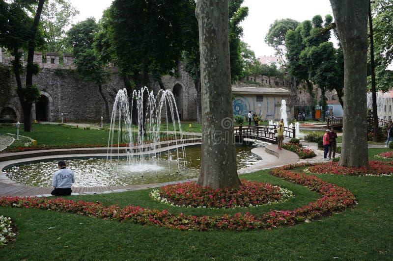 Gulhanepark royalty-vrije stock afbeelding