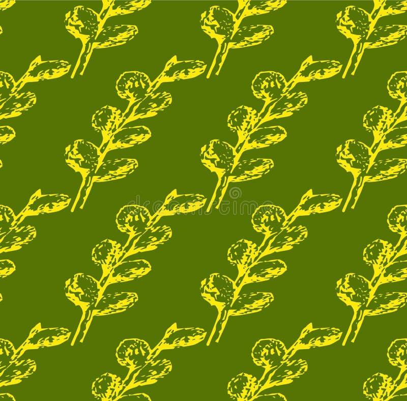 Guling för pilskyddsremsamodell på en grön bakgrund stock illustrationer