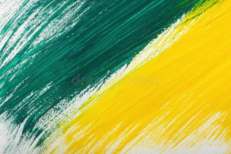 Guling-gräsplan hand-målad textur för gouacheslaglängdkludd vektor illustrationer