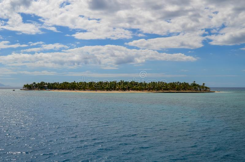 Gulle gifteiland, Mamanucas, Fiji stock foto's