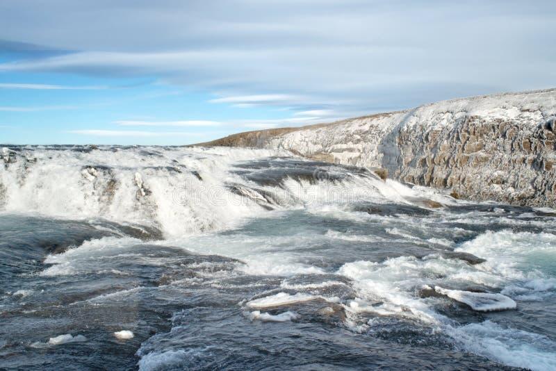 Gullfoss, Iceland stock images