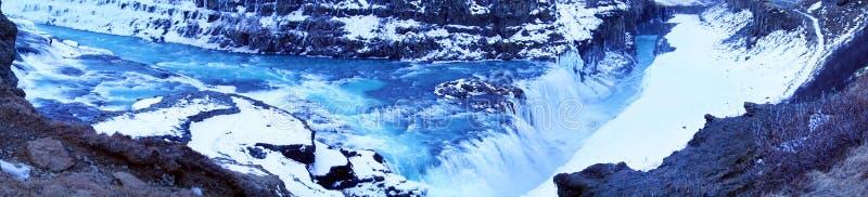 Download Gullfoss Waterfall In Iceland Stock Image - Image of early, merkjarfoss: 88595175