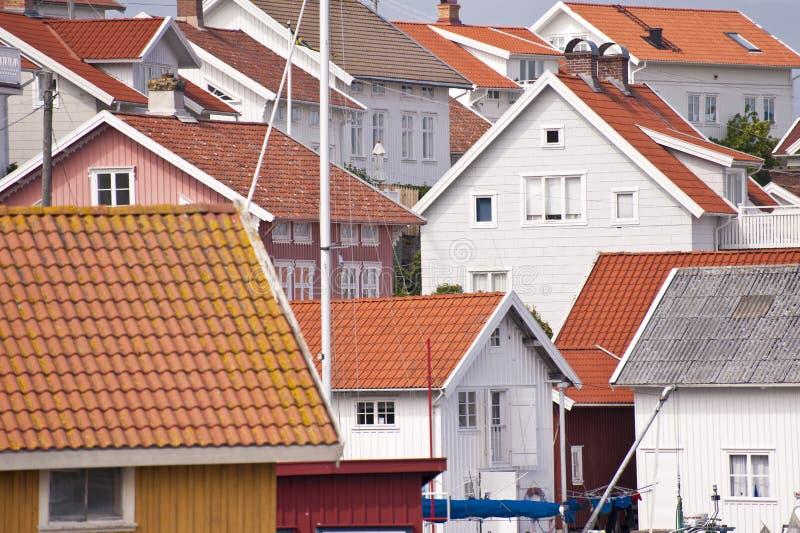 Gullholmen i Sverige arkivbild