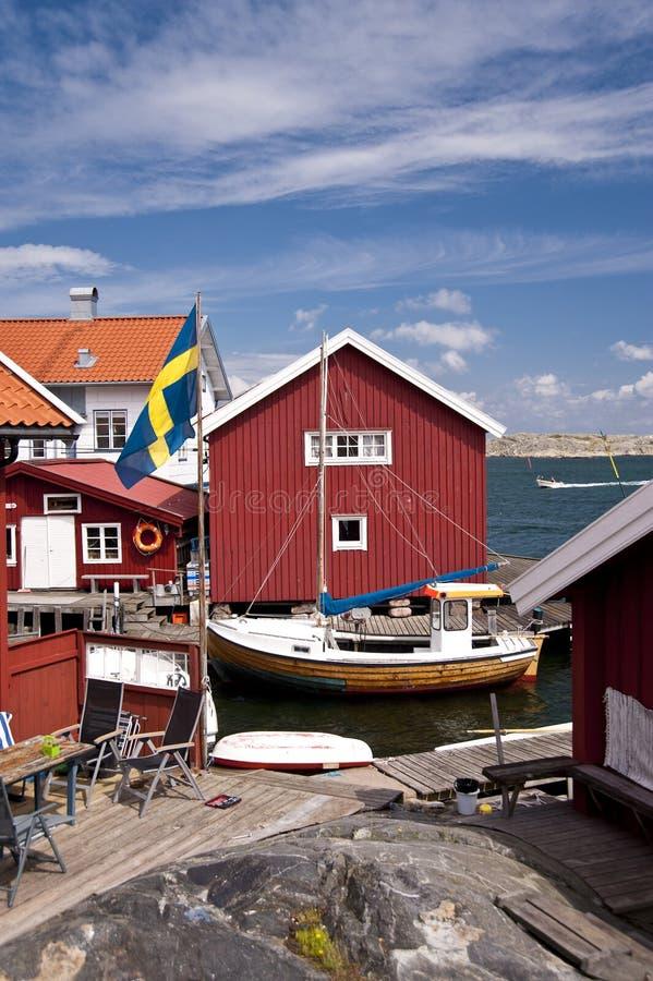 Gullholmen, Schweden stockfotografie