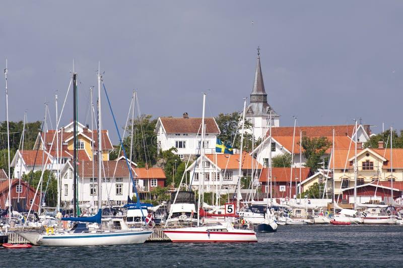 Gullholmen, Zweden stock afbeeldingen