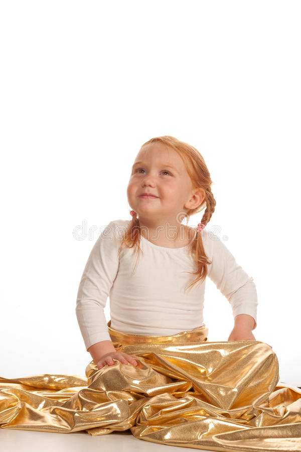gullig flicka för balett little royaltyfri foto