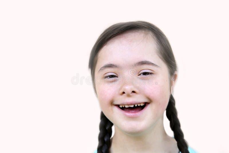 gullig flicka little arkivfoto