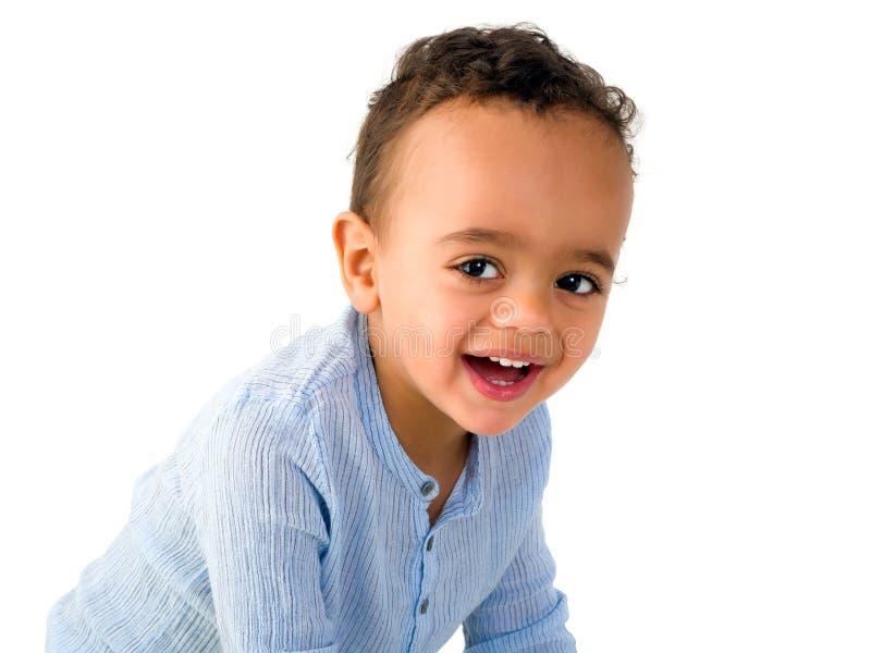 gullig litet barn för pojke royaltyfri fotografi