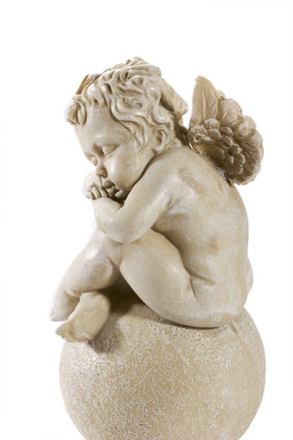 gullig marmor för ängel arkivbilder