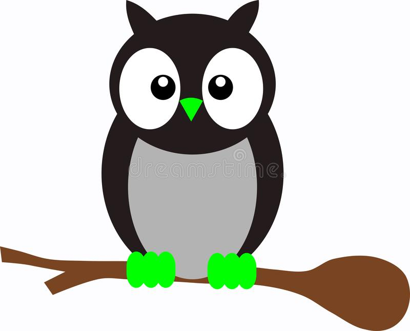 gullig owl royaltyfri fotografi