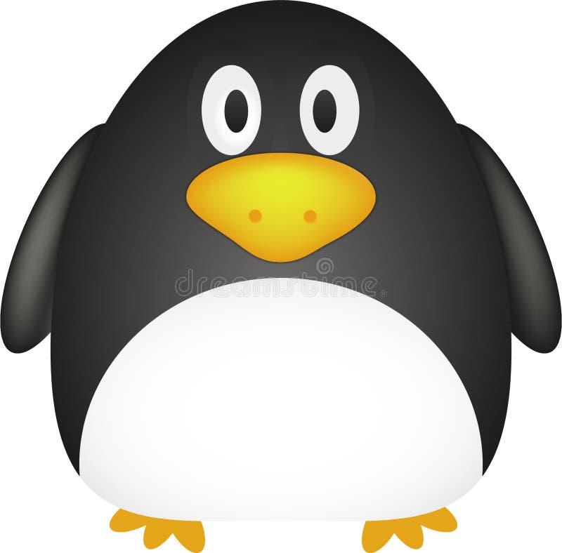 gullig pingvin stock illustrationer