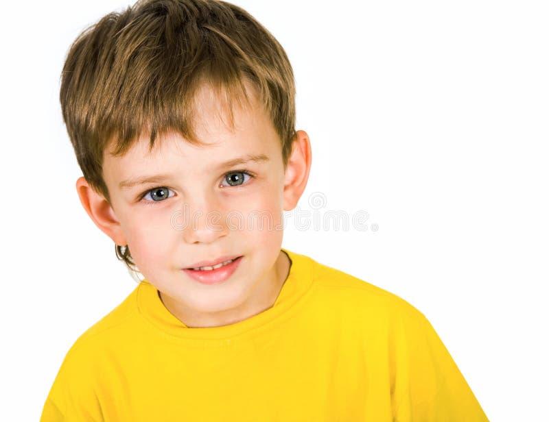 gullig pojke royaltyfri foto